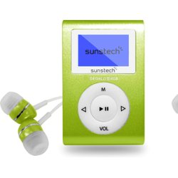 SUNSTECH REPRODUCTOR MP3 DEDALOIIIGN 4GB