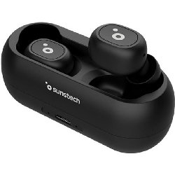 SUNSTECH AURICULARES WAVE PODSLITEBK
